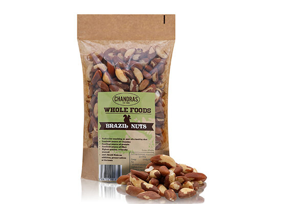 Chandras Brazil Nuts in a packet